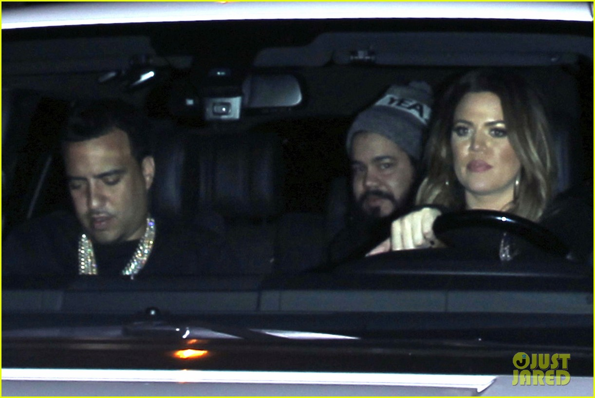 kim kardashian joins khloe to support french montana 103113375