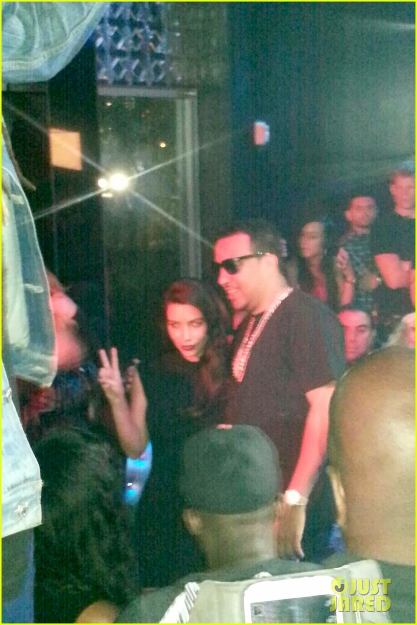 kim kardashian joins khloe to support french montana 153113380