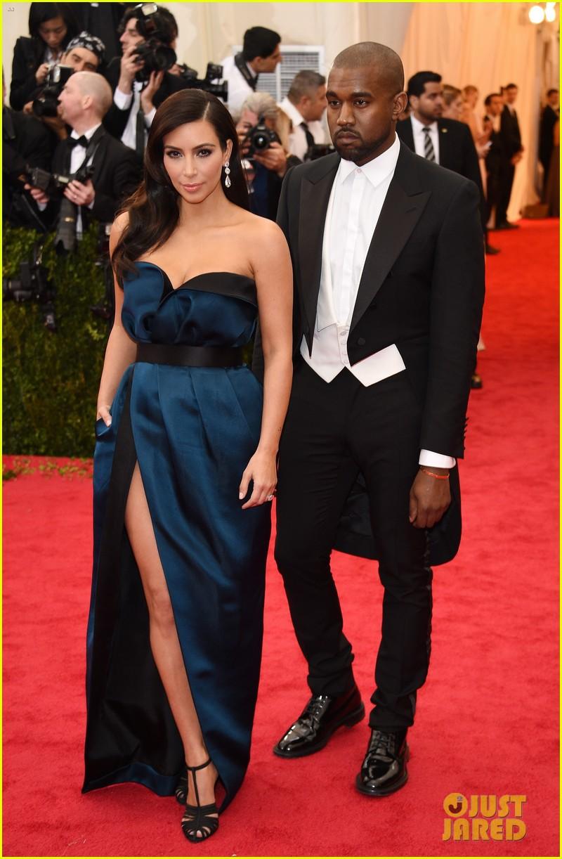 kim kardashian kanye west met ball 2014 04