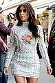 kim kardashian changes into sexy short dress 19