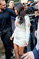 kim kardashian changes into sexy short dress 23
