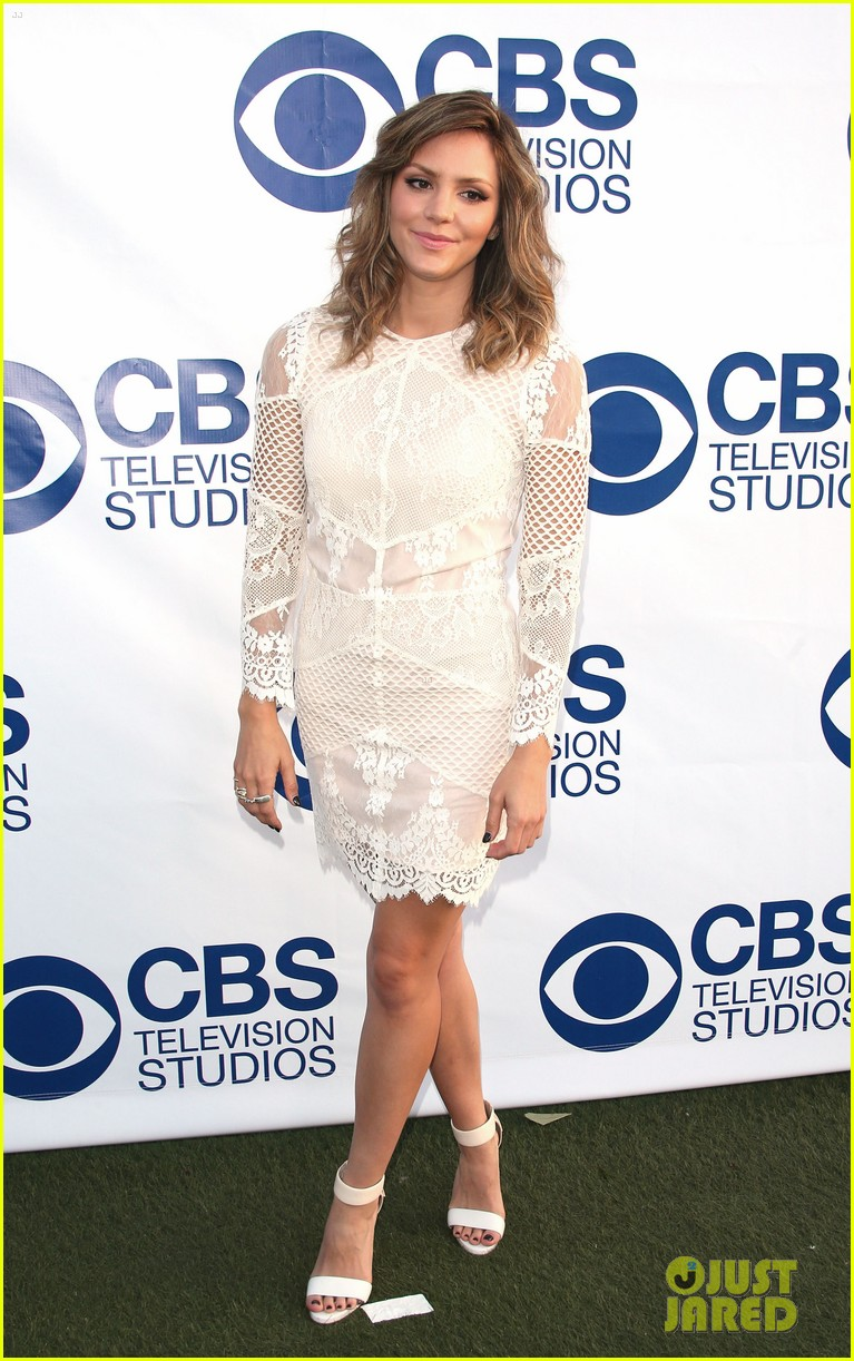 katharine mcphee cam gigandet celebrate new cbs shows 073118207