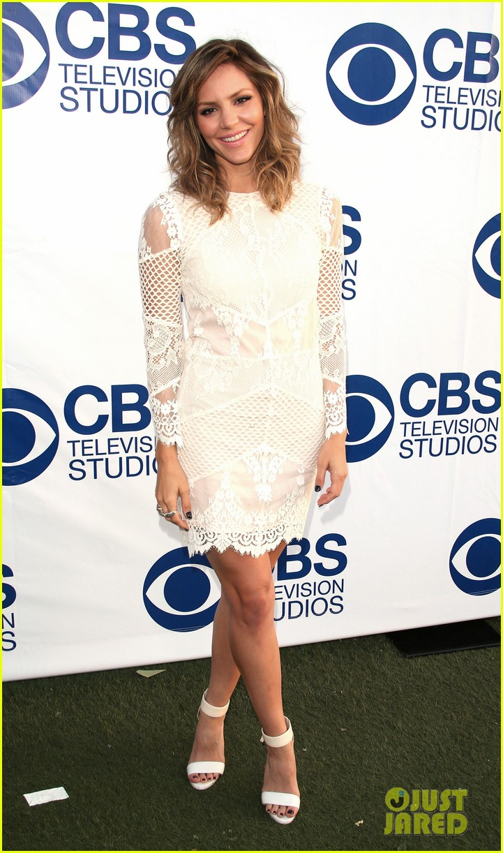 katharine mcphee cam gigandet celebrate new cbs shows 09