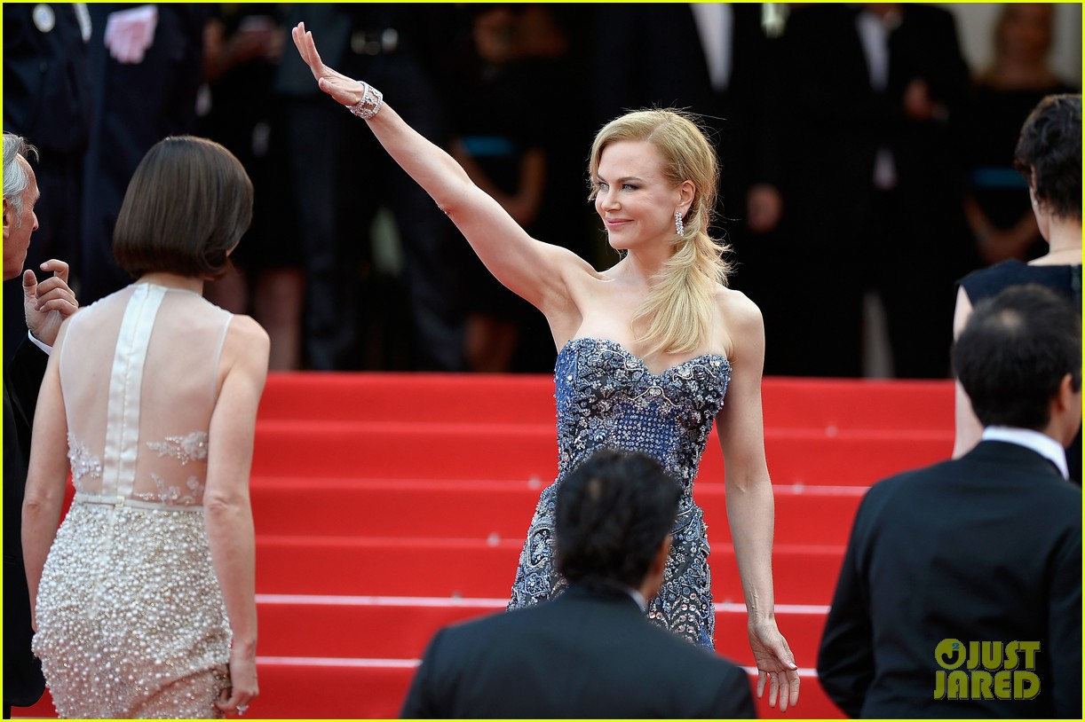 nicole kidman wears gorgeous intricately beaded gown for grace of monaco cannes premiere 093113200