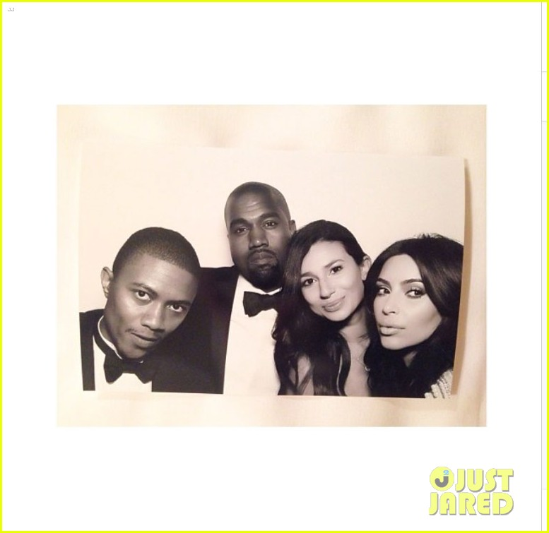 kim kardashian kanye west wedding photo booth 043121821