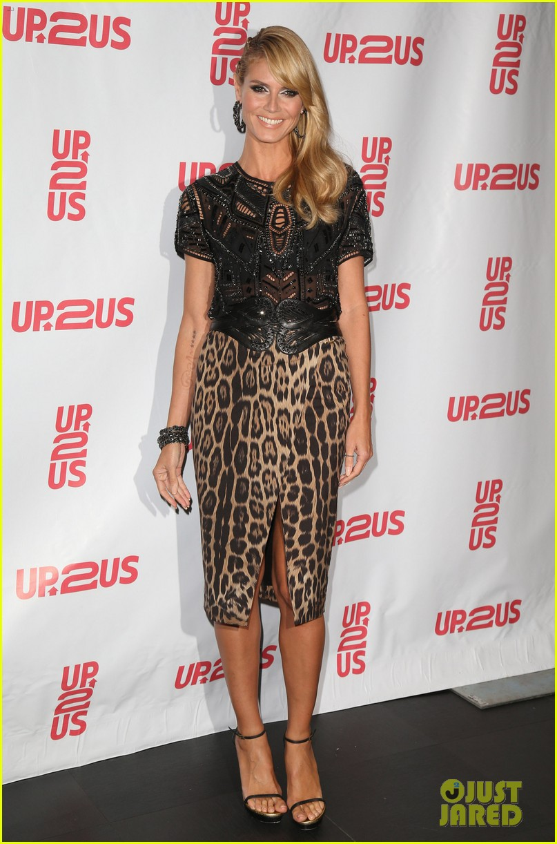 heidi klum supports youth development at up2us gala 03