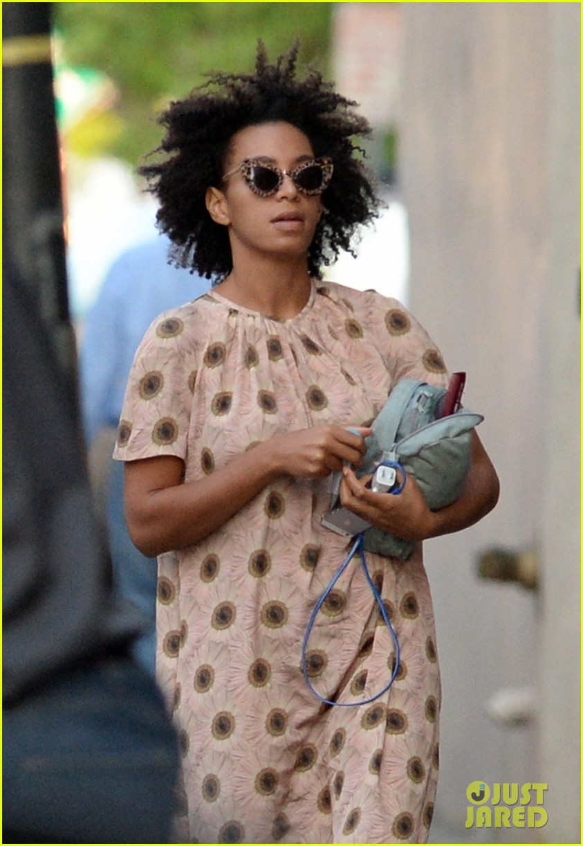 solange knowles emerges for first time since elevator fight video leaks 03