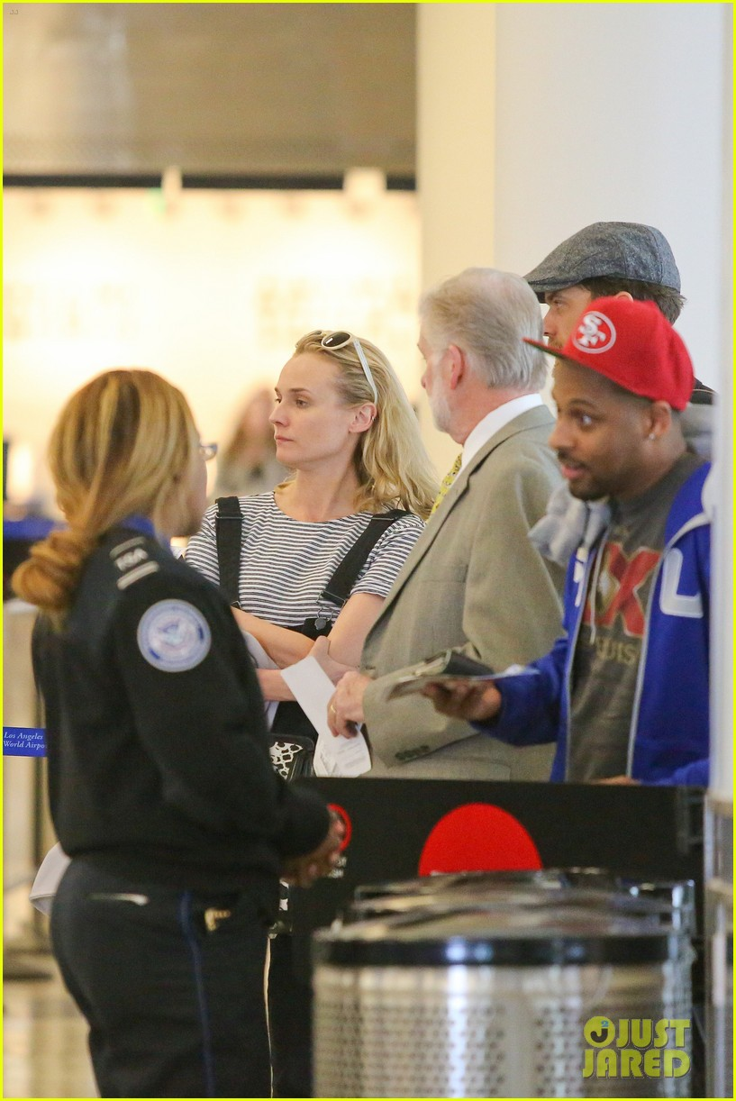diane kruger joshua jackson take flight at lax 11