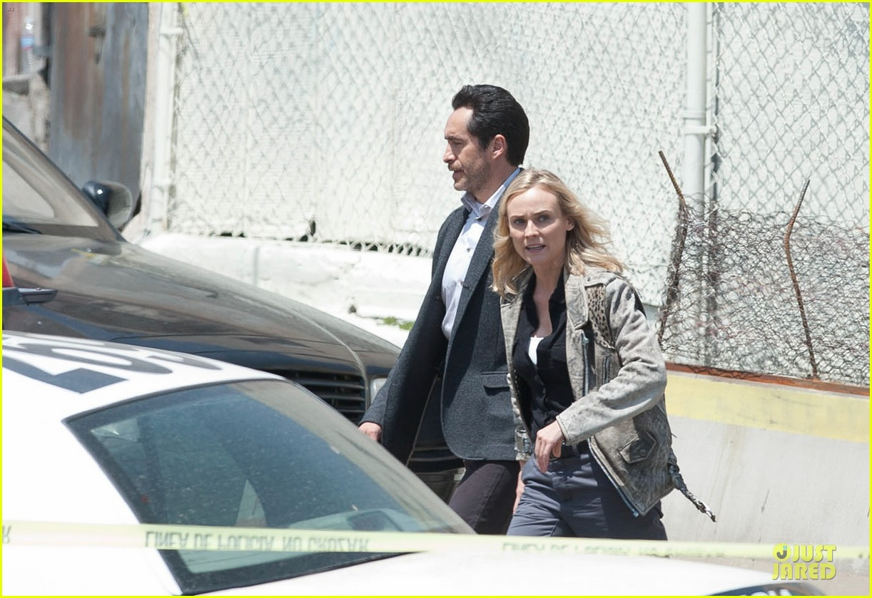 diane kruger shooting bridge second season 02