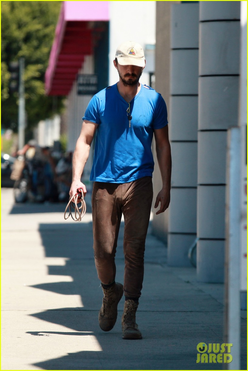 shia labeouf sure is dedicated to the gym these days 11