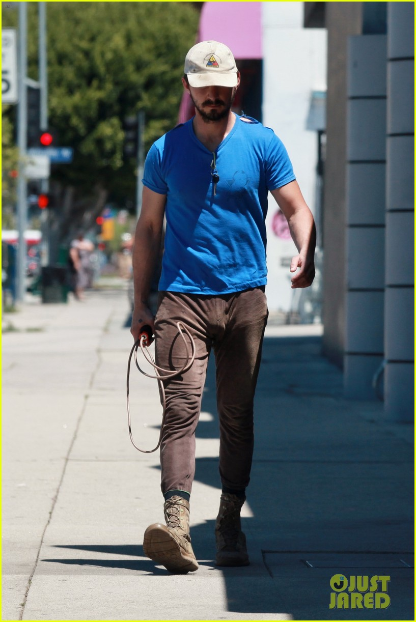 shia labeouf sure is dedicated to the gym these days 16