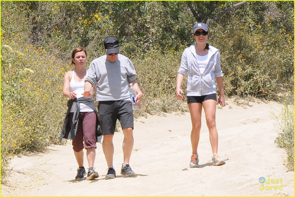 lea michele hike parents funny girl 23