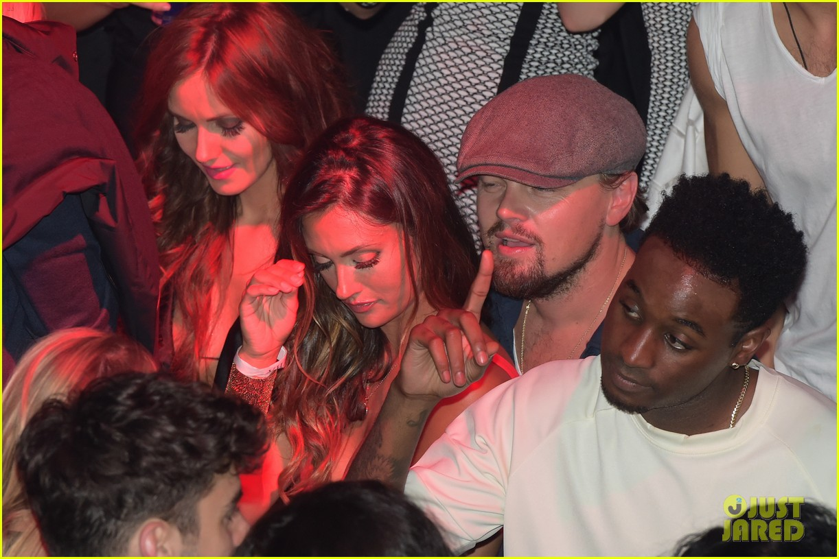 leonardo dicaprio surrounded by ladies at cannes 123118147