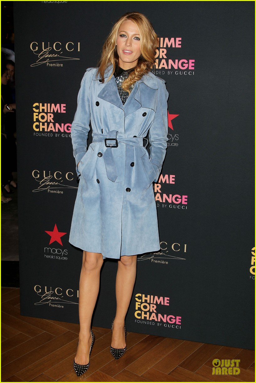blake lively promote gucci chime for change 123107071