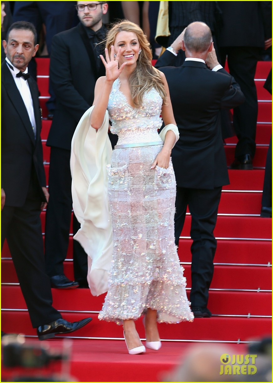 blake lively keeps her hands in her couture dress pockets 08