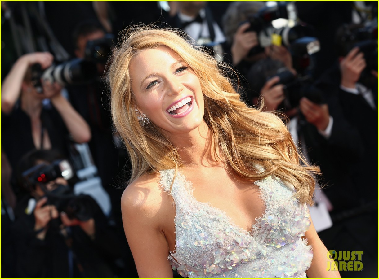 blake lively keeps her hands in her couture dress pockets 10