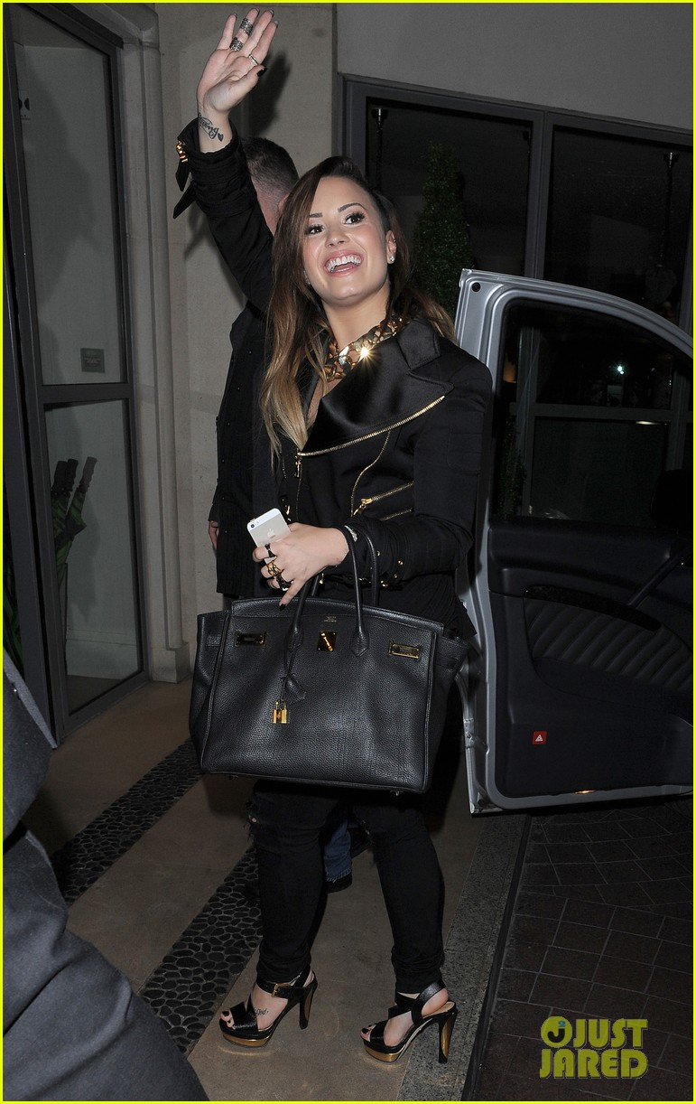demi lovato waves fans hotel 103123364