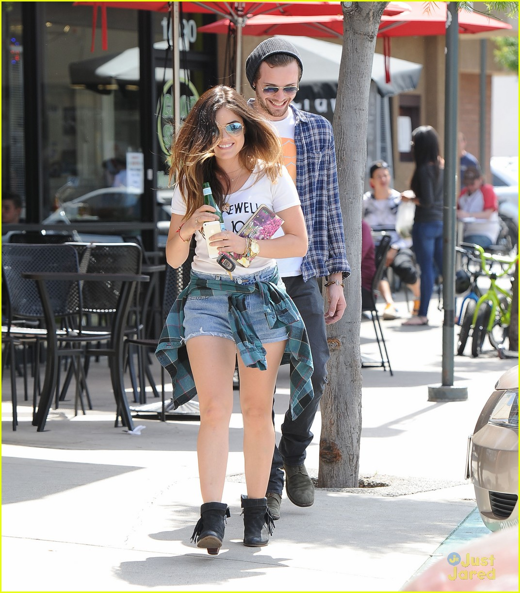 lucy hale joel crouse lunch workout 103108827