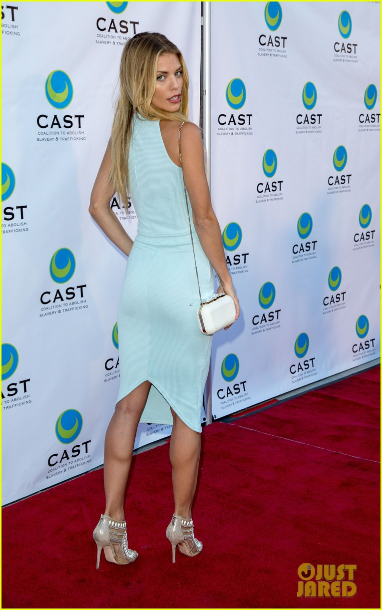 annalynne mccord makes public appearance at slavery to freedom gala 04