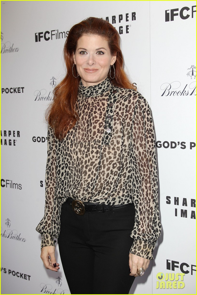 debra messing shows her support for philip seymour hoffman at gods pocket screening 08
