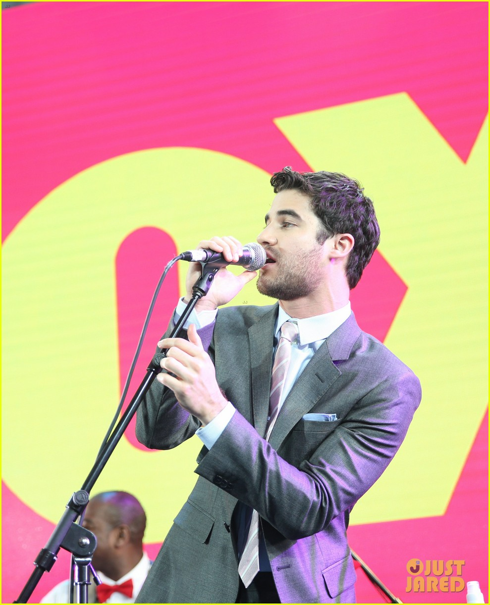lea michele darren criss fox upfronts 2014 023111842