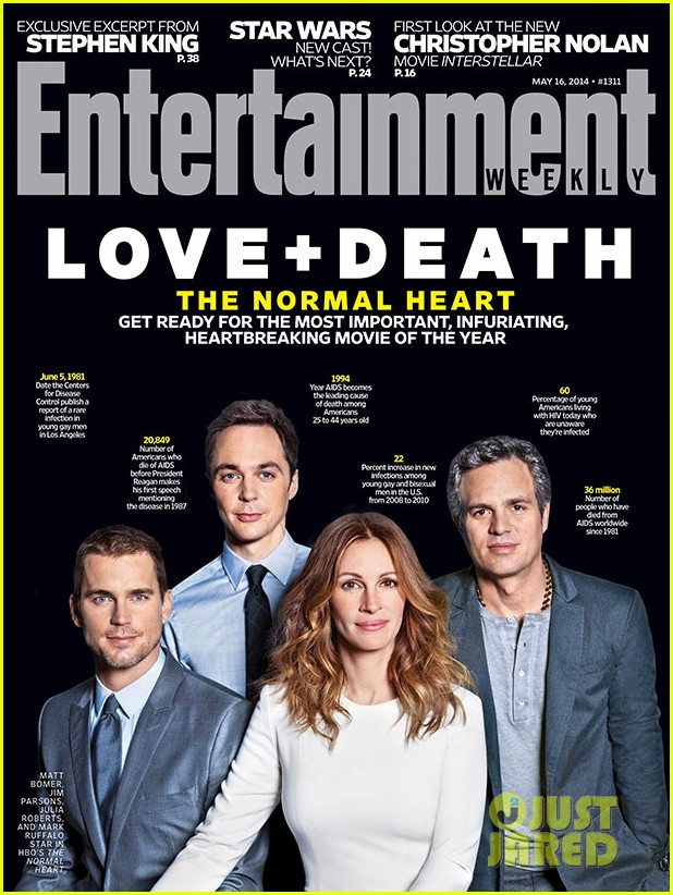 normal heart entertainment weekly cover 01