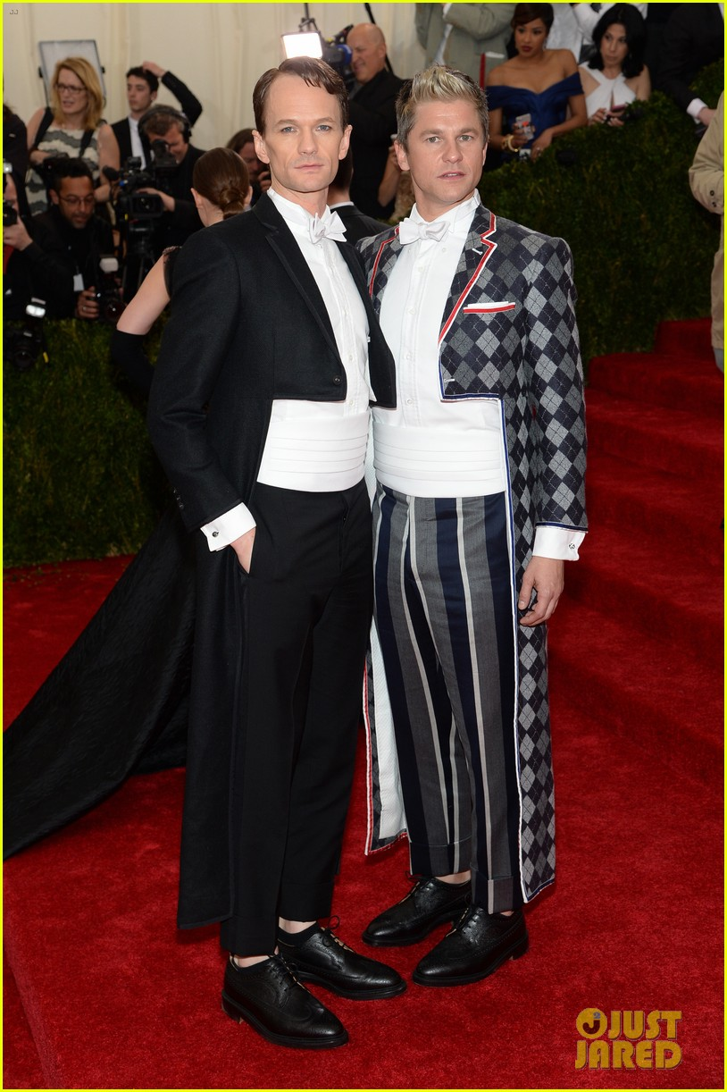 neil patrick harris david burtka met ball 2014 013106281