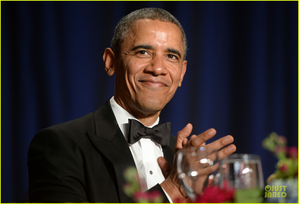 president obama shares jokes at white house correspondents dinner 2014 043104724