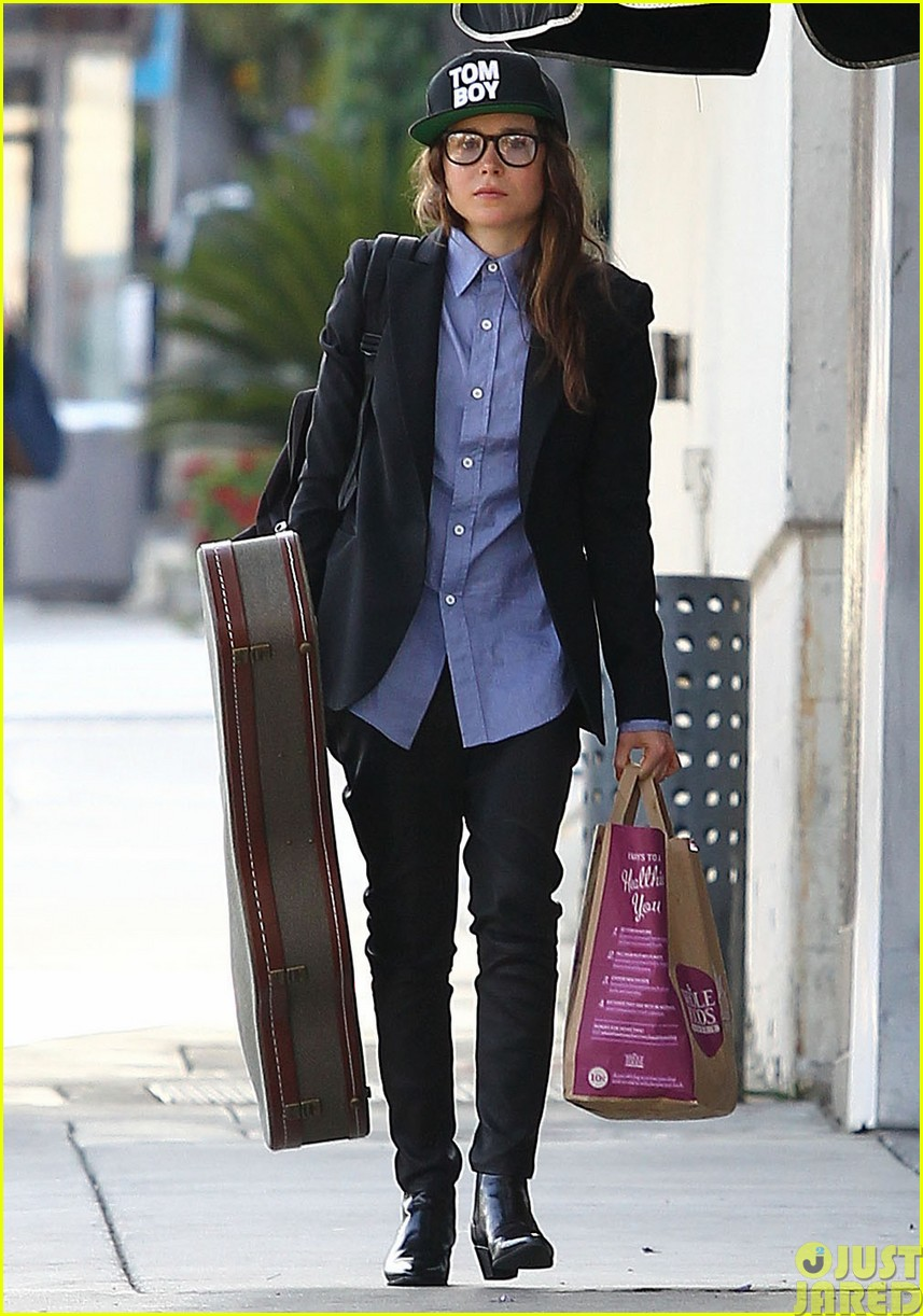 ellen page eats ikea takeout with justin bieber in her dreams21