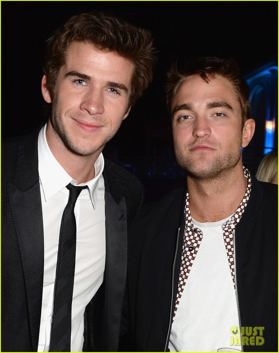 robert pattinson parties with hunger games stars in cannes 043115938