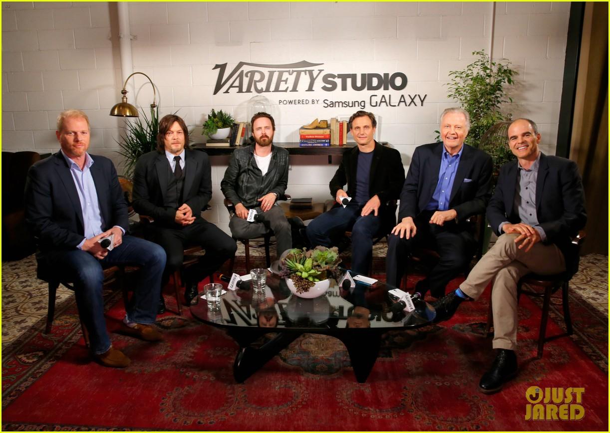 aaron paul norman reedus variety studio 16