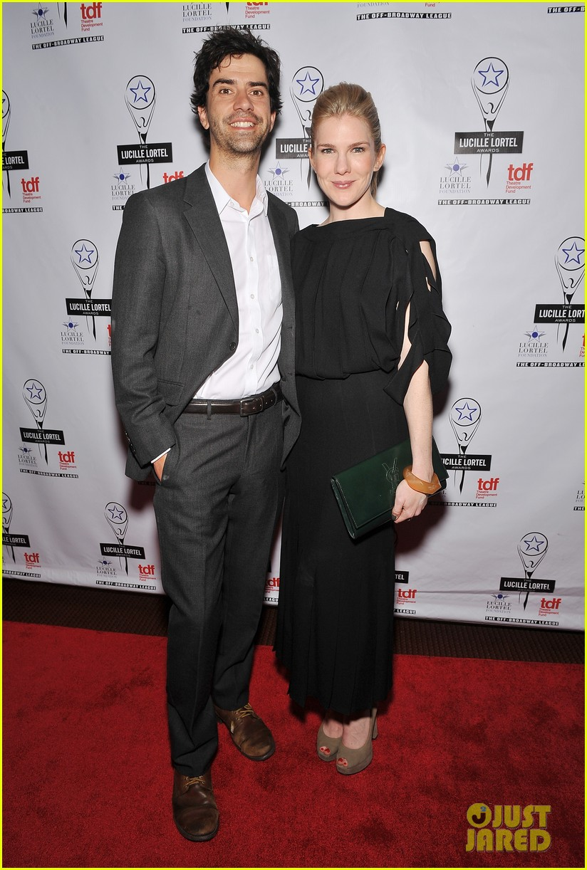 sarah paulson lily rabe present at lucille lortel awards 17