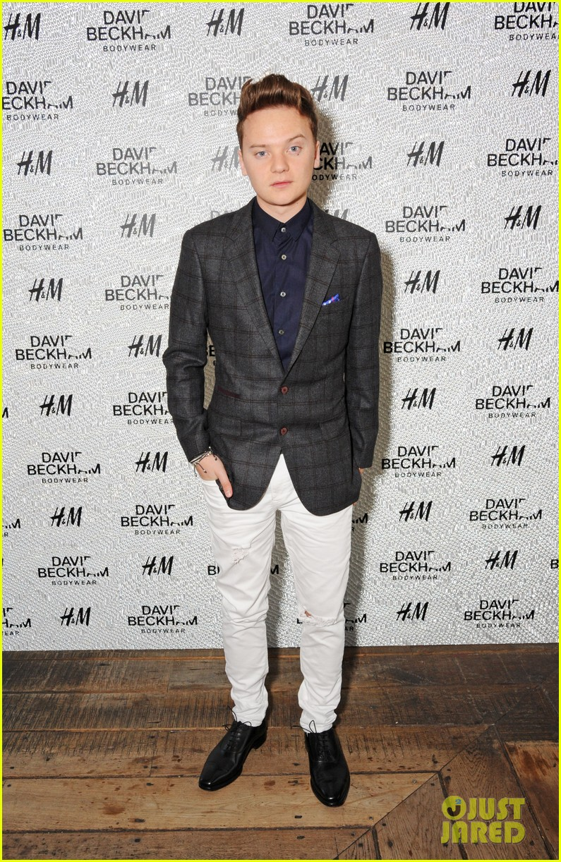 liam payne niall horan rep one direction at david beckhams swimwear launch 013113980