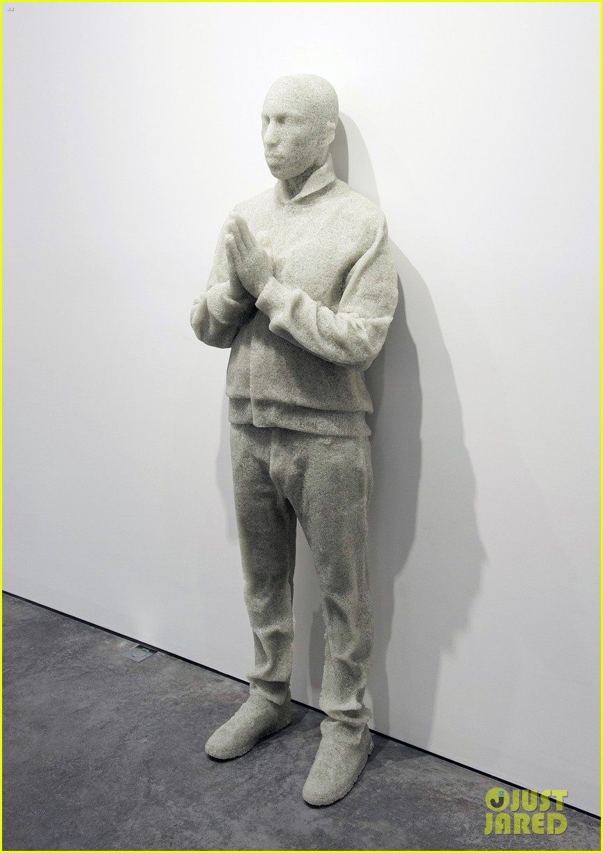 pharrell williams happy shirt paris art gallery opening 133122425