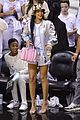 rihanna cheers on lebron james at nets heat game 05
