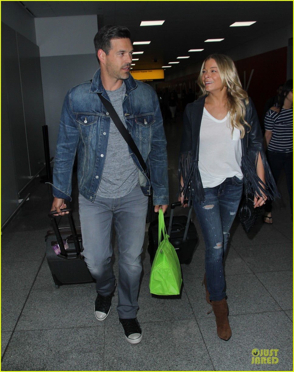 leann rimes eddie cibrian denim pair in nyc 113117954
