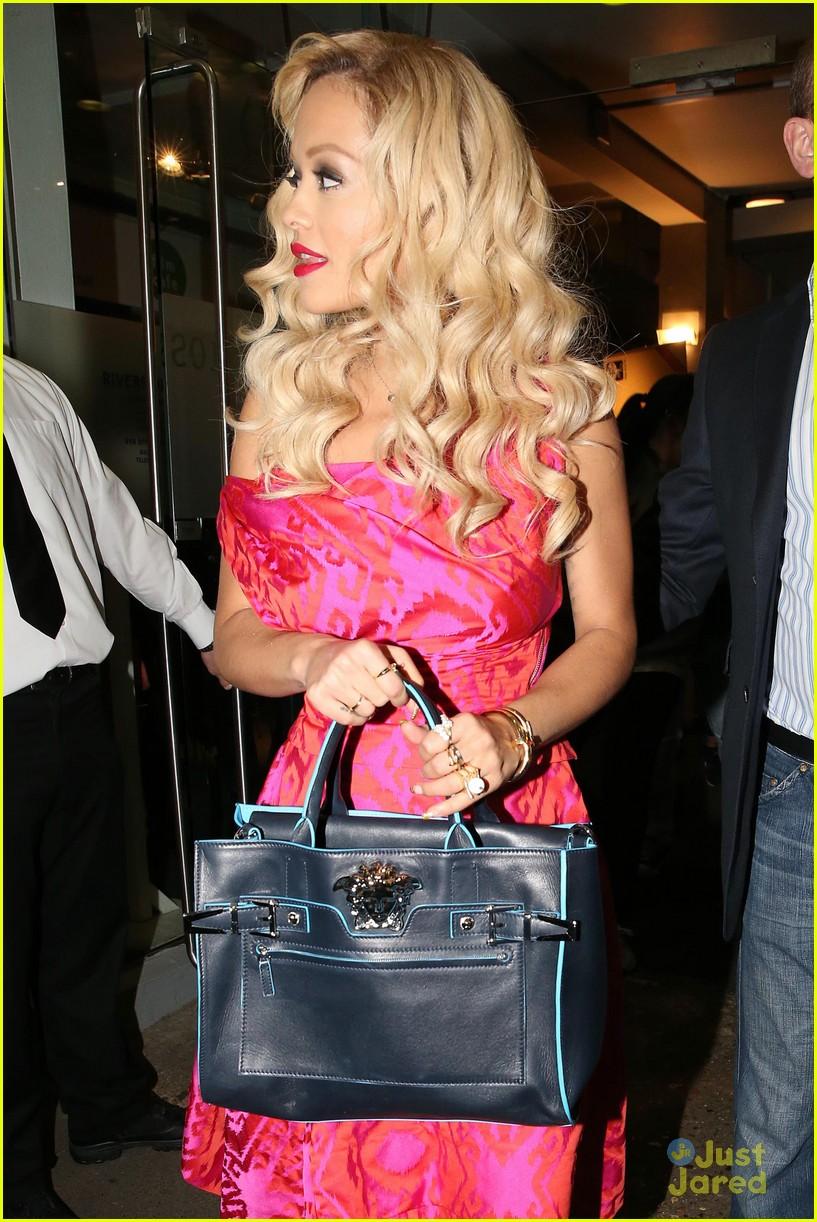 rita ora basket flowers pink dress 073109927
