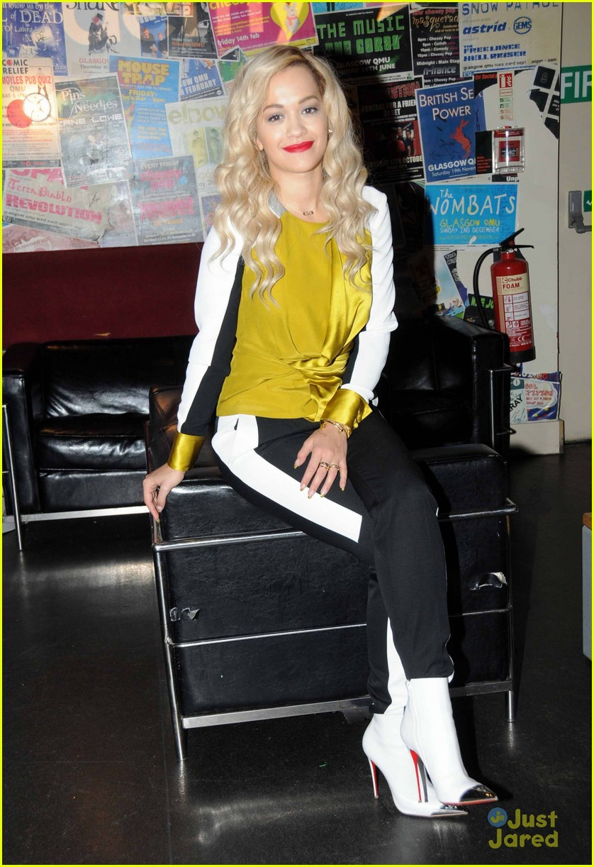 rita ora performs queen margaret union 113112941
