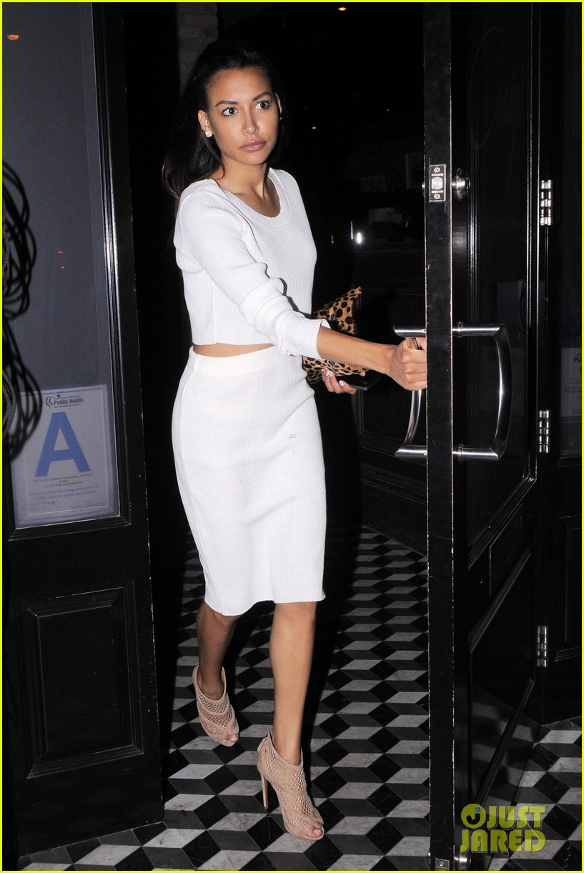 naya rivera dinner out craigs 123124686