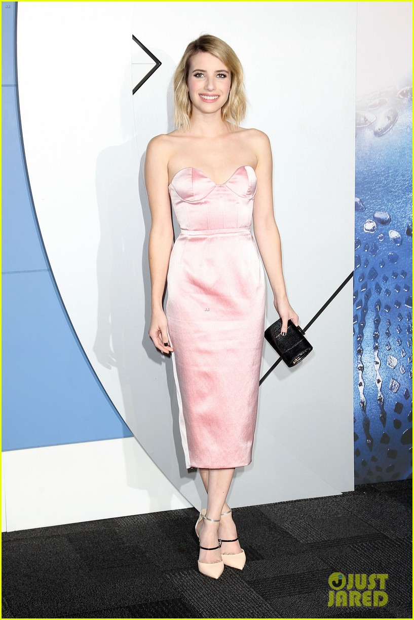 emma roberts evan peters x men premiere 19