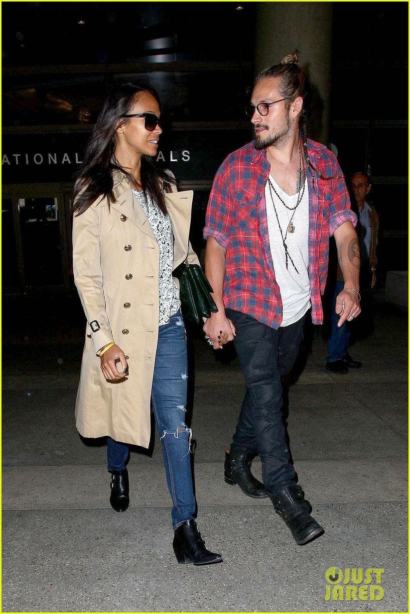 zoe saldana hubby marco perego return to l a after cannes 08