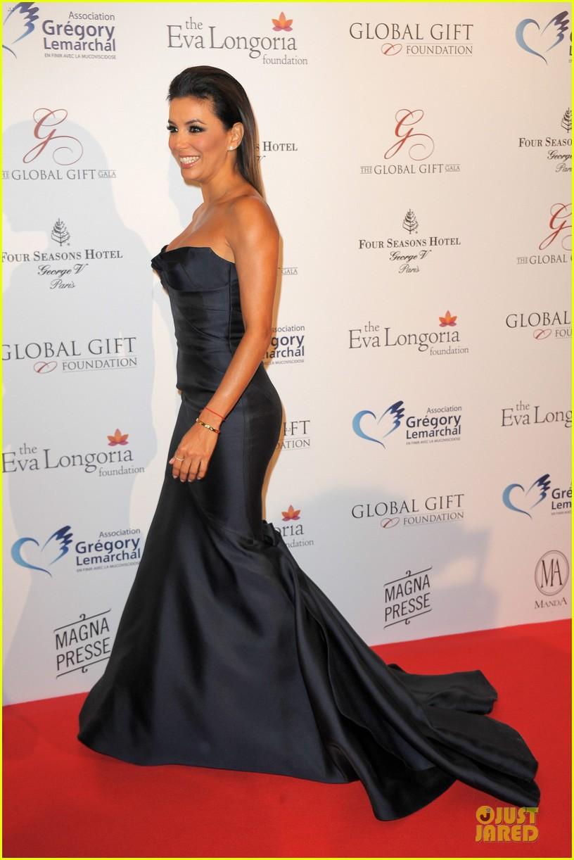 zoe saldana eva longoria global gift gala 16