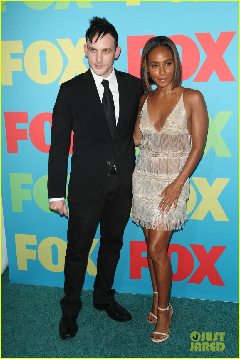 will smith joins wife jada in new york city for fox upfronts 05
