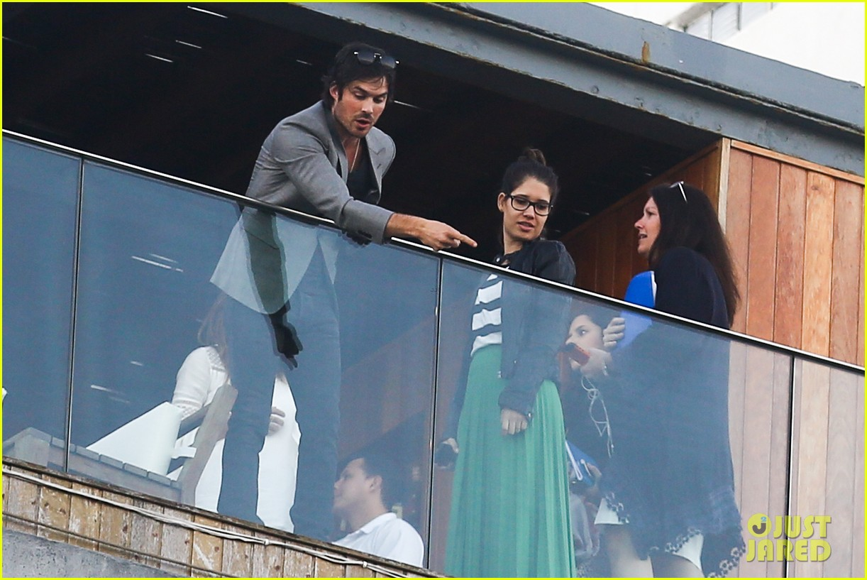 ian somerhalder blows kisses to fans from rio hotel balcony 233125067