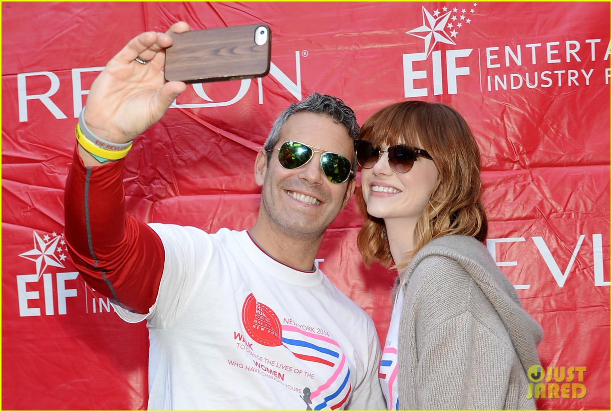emma stone revlon run walk for women 06