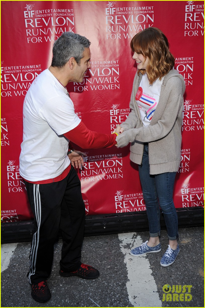 emma stone revlon run walk for women 10