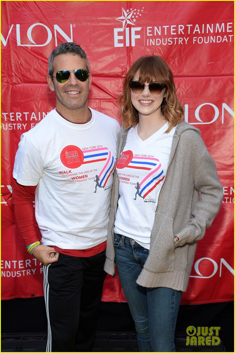 emma stone revlon run walk for women 11
