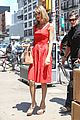 taylor swift red dress meredith met gown 07