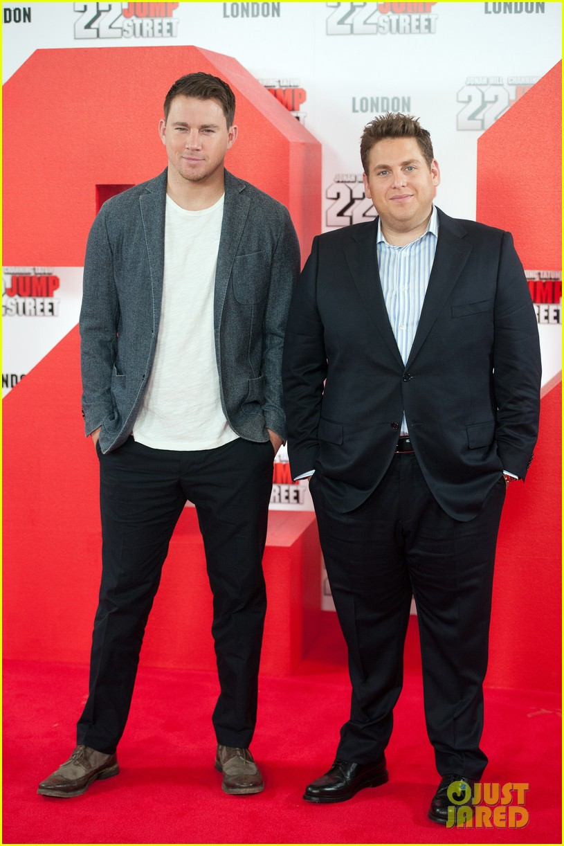channing tatum jonah hill 22 jump street photo call 10
