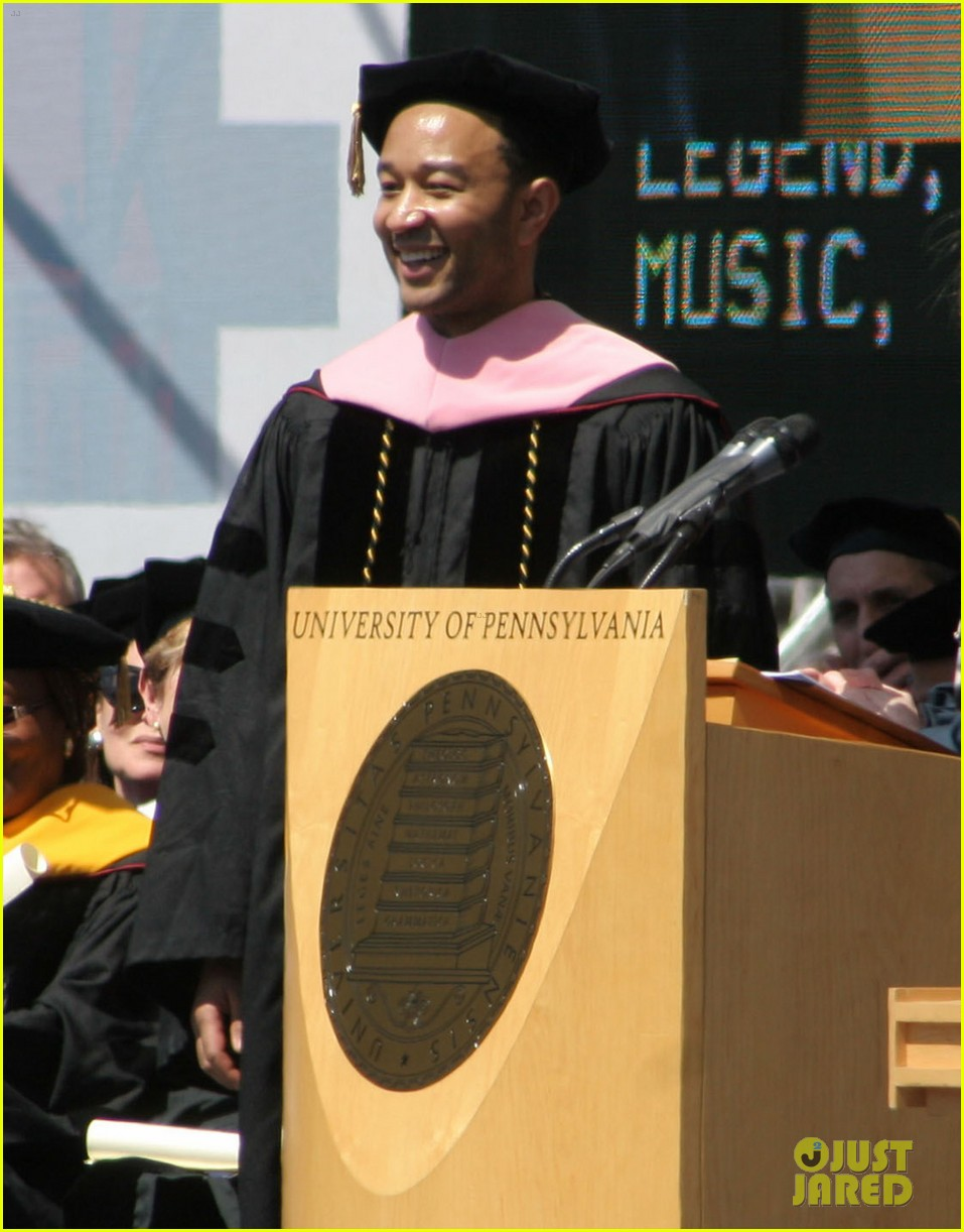 chrissy teigen john legend university of pennsylvania honorary degree 02